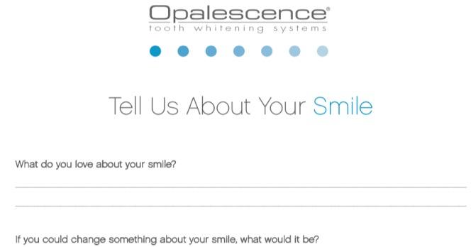 Smile Questionnaire